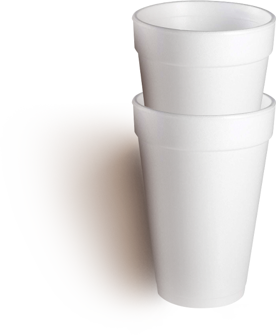 Expandable polystyrene cups (EPS)